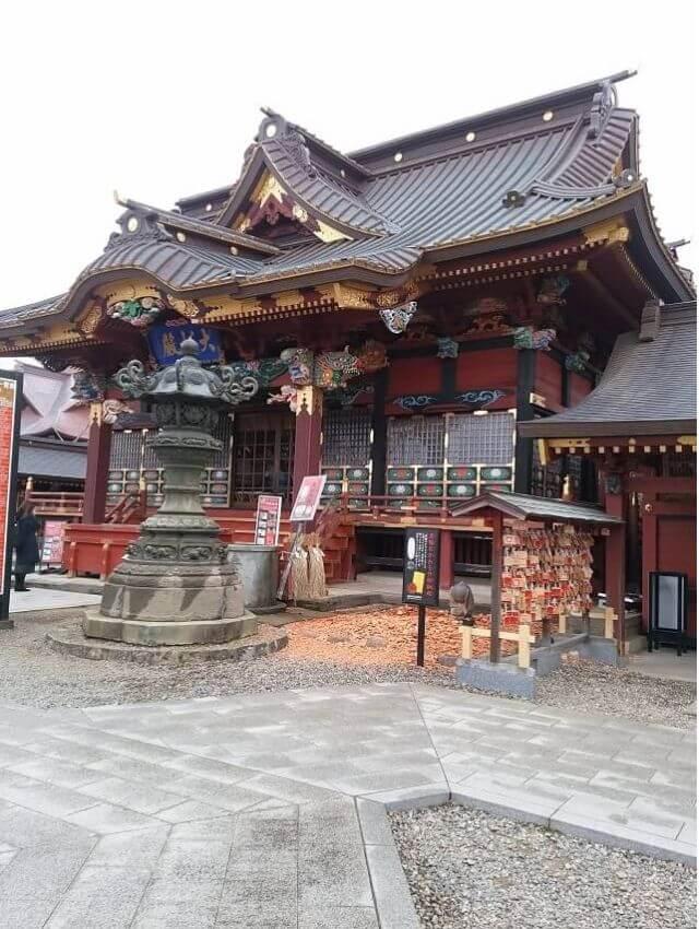 大杉神社 拝殿 ご利益