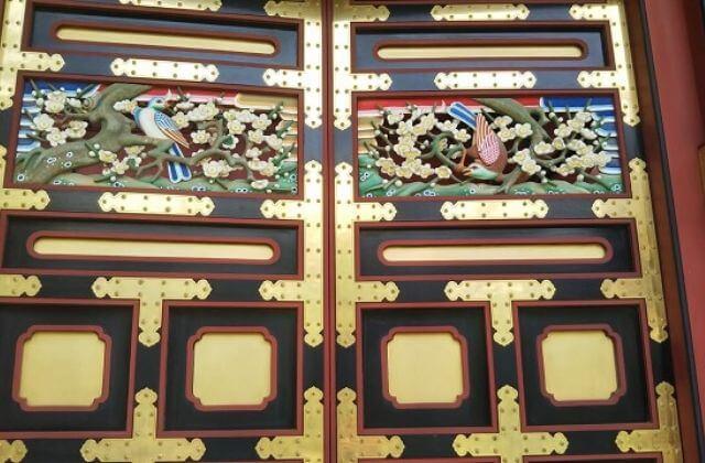 大杉神社 装飾
