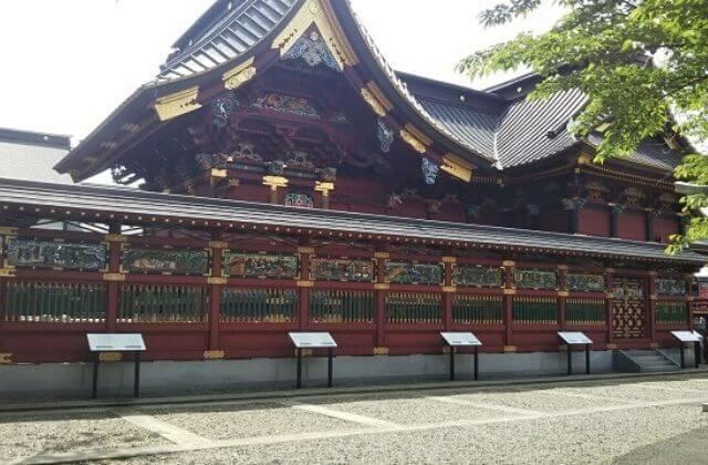 大杉神社 拝殿 本殿 参拝