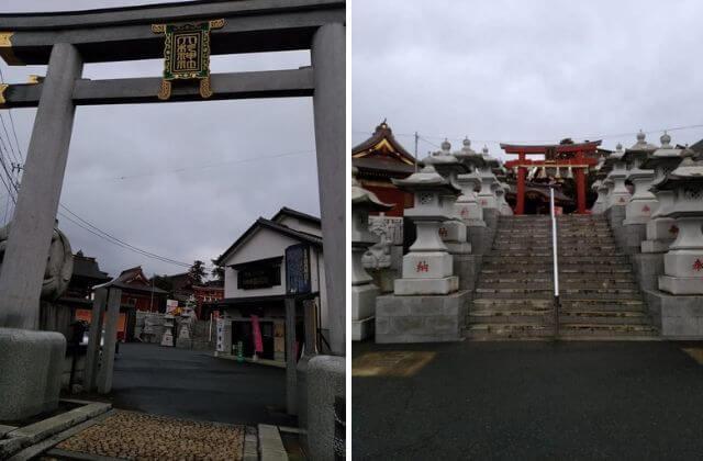 大杉神社 参道 階段