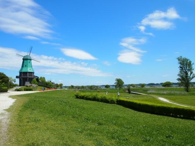 霞ヶ浦総合公園 湖畔の公園 駐車場 土浦市