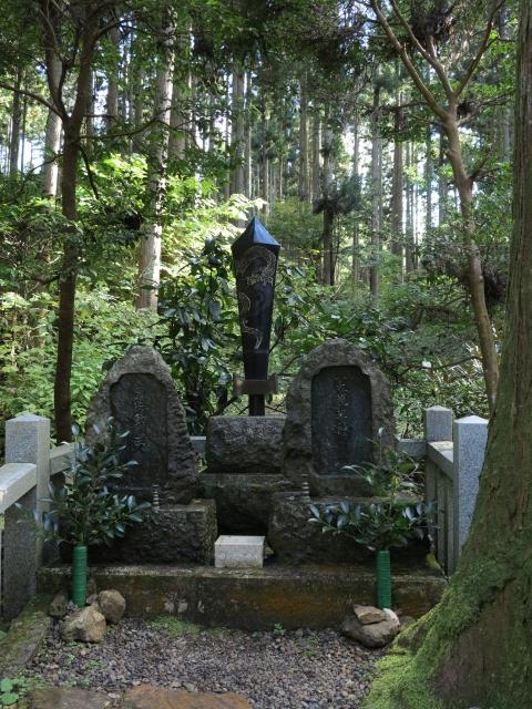 御岩神社の逆鉾 パワースポット 登山