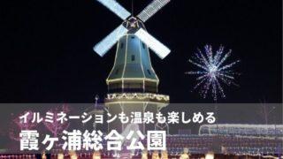 霞ヶ浦総合公園 イルミネーション