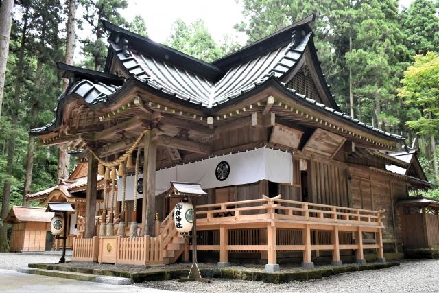 御岩神社の社殿 本殿 パワースポット