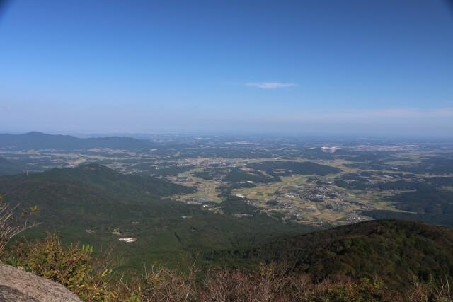 筑波山 登山 女体山 山頂 景色