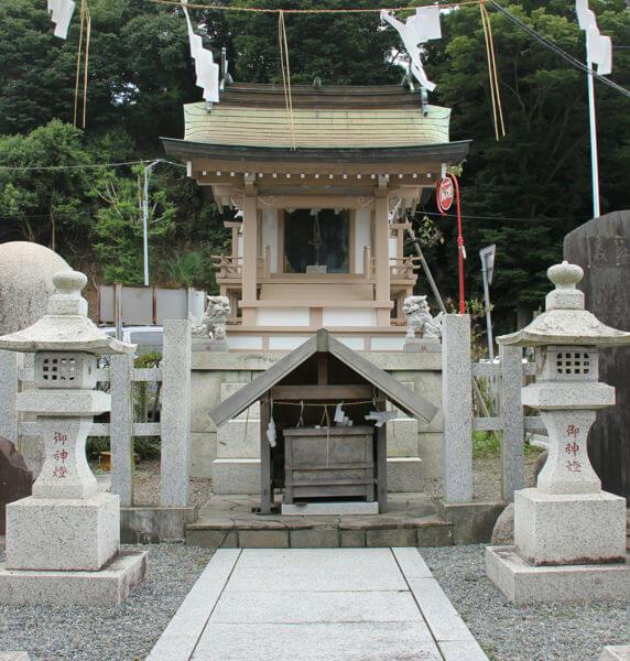 水戸城址めぐり 観光 水戸黄門神社(義公祠堂)