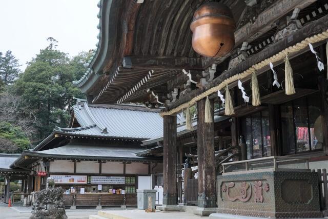 筑波山神社 拝殿 パワースポット