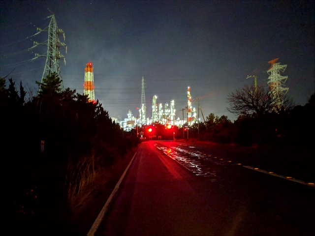茨城県 神栖市 工場夜景 鹿島臨海工業地帯