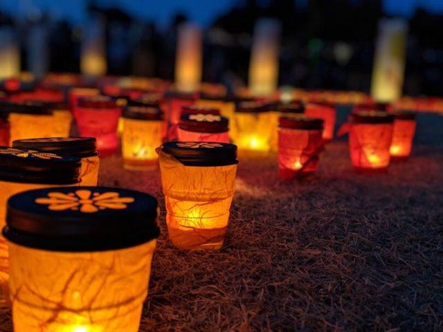 偕楽園 夜梅祭 ライトアップ キャンドルナイト