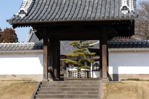 水戸 梅まつり 弘道館 正門