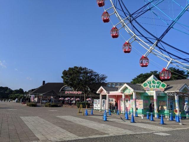 国営ひたち海浜公園 遊園地 プレジャーガーデン 乗り物券 チケット売り場