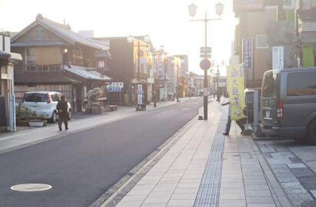 土浦 観光 中城通りの小江戸な雰囲気