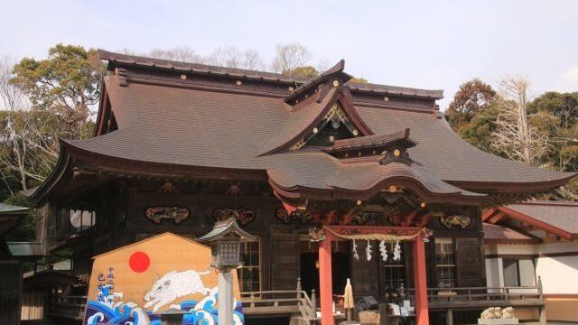 大洗 観光スポット 大洗磯前神社