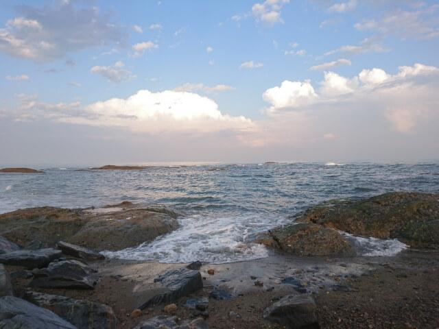 大洗磯前神社 海岸