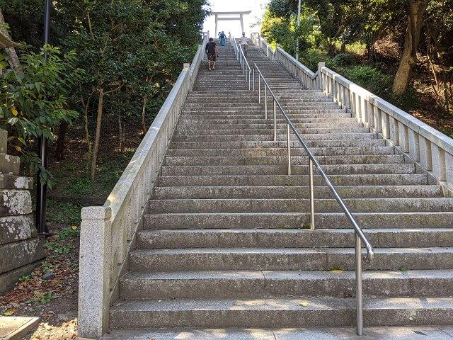 大洗磯前神社 階段