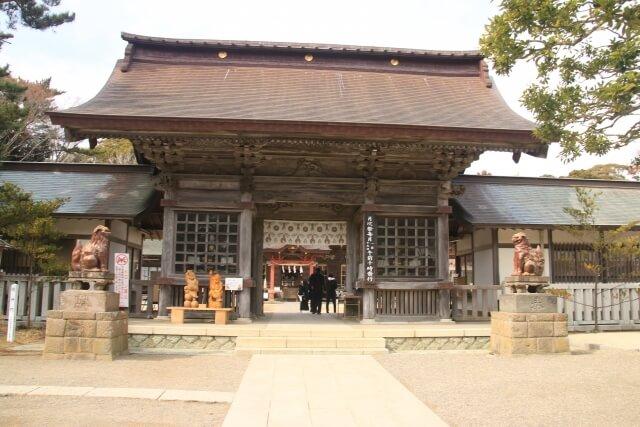 大洗磯前神社の随神門