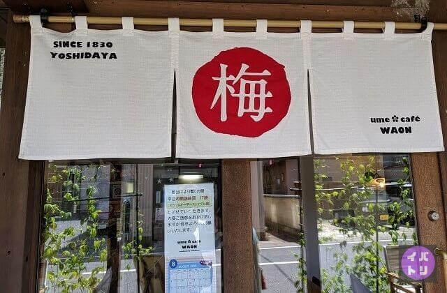 大洗 日帰り 観光 カフェ umecafewaon