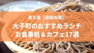 大子町 袋田の滝 ランチ カフェ