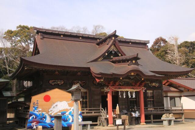 茨城 パワースポット 縁結び 大洗磯前神社