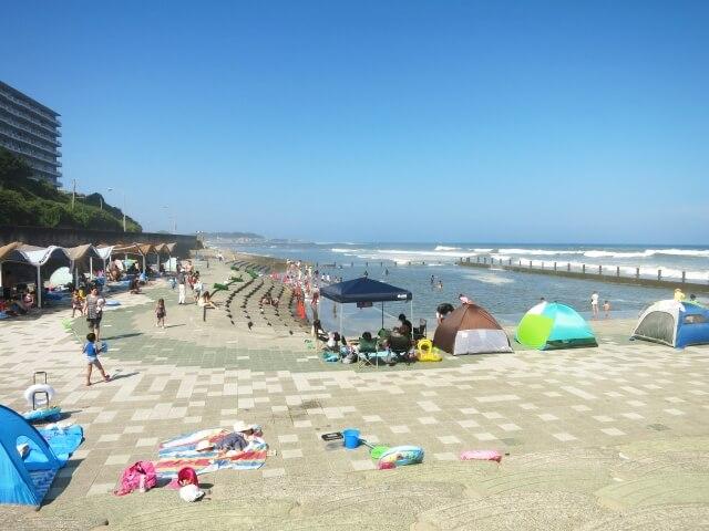 茨城 海水浴場 姥の懐マリンプール