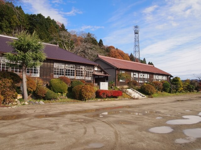 袋田の滝 周辺 観光 旧上岡小学校