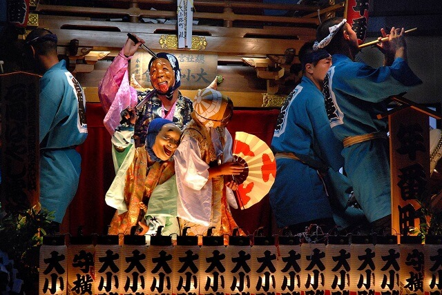 茨城 夏祭り 常陸国総社宮 石岡