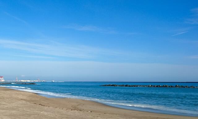 国営ひたち海浜公園 周辺 阿字ヶ浦海水浴場