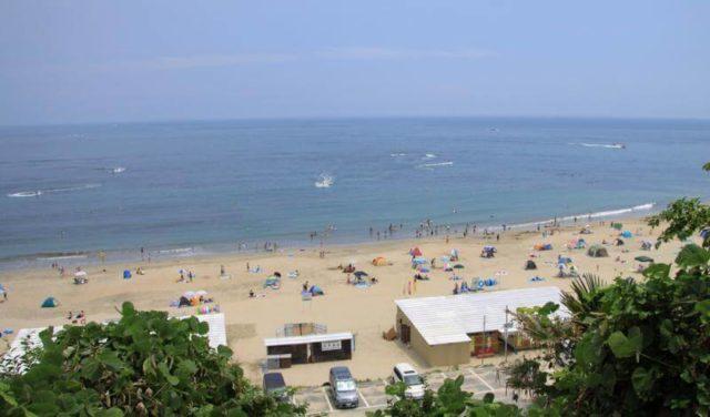 日立 観光 久慈浜海水浴場
