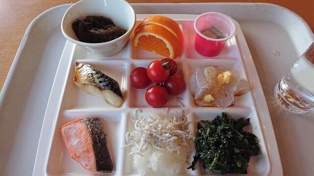 国民宿舎 鵜の岬 朝食 ビュッフェ