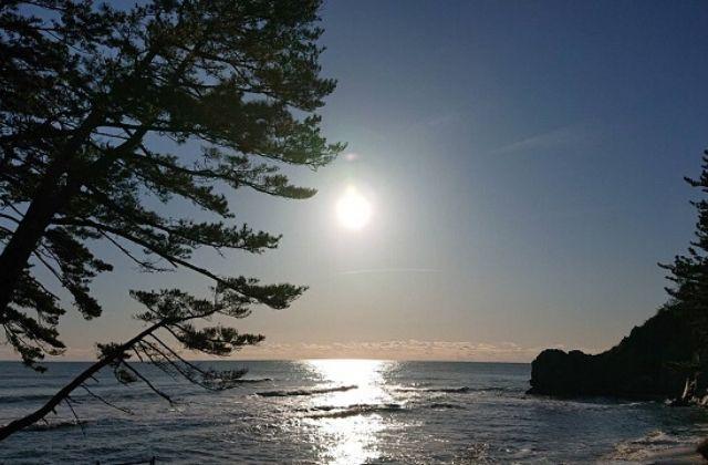 国民宿舎 鵜の岬 海岸