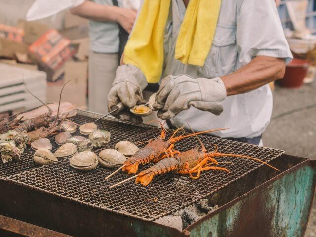 大洗 観光 ランチ 日帰り 大洗海鮮市場