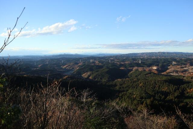 御岩神社 登山 山頂