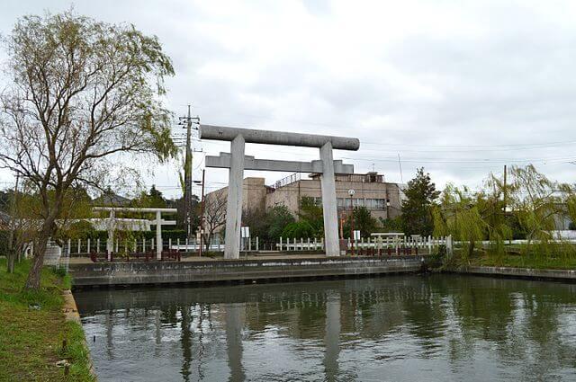 茨城 パワースポット 息栖神社 一の鳥居