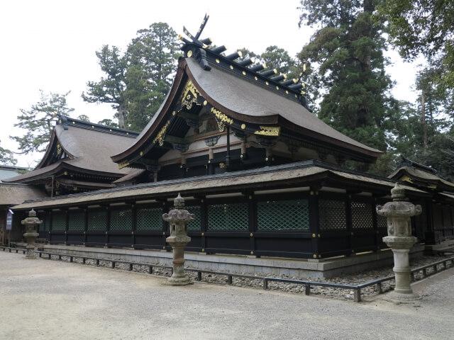 香取神宮 拝殿 御朱印
