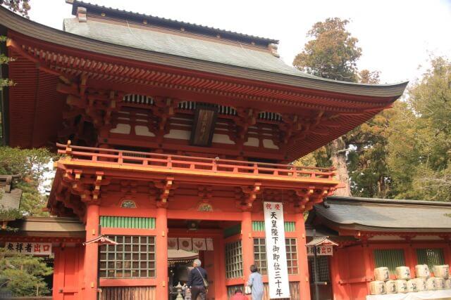 香取神宮 見どころ 楼門