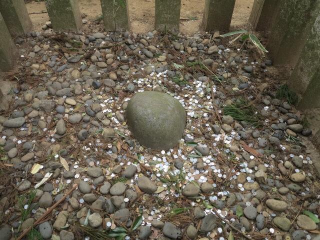 香取神宮 パワースポット 要石