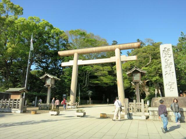 鹿島神宮 見どころ 大鳥居