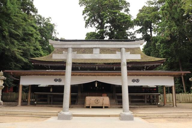 鹿島神宮 拝殿 お守り
