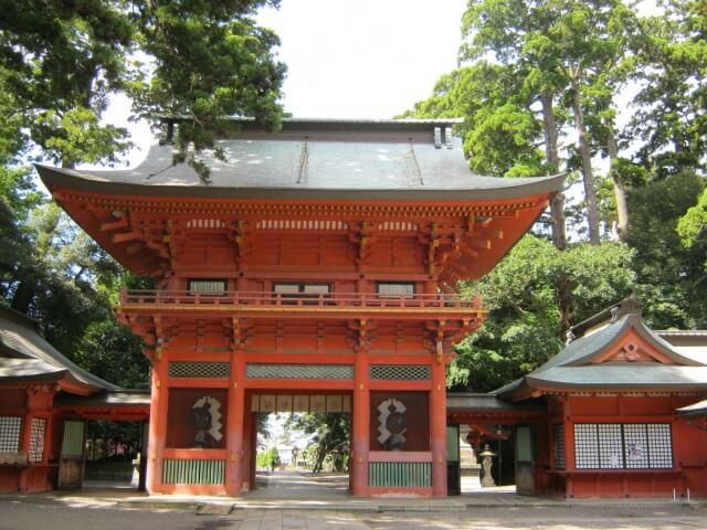 鹿島神宮 見どころ 楼門
