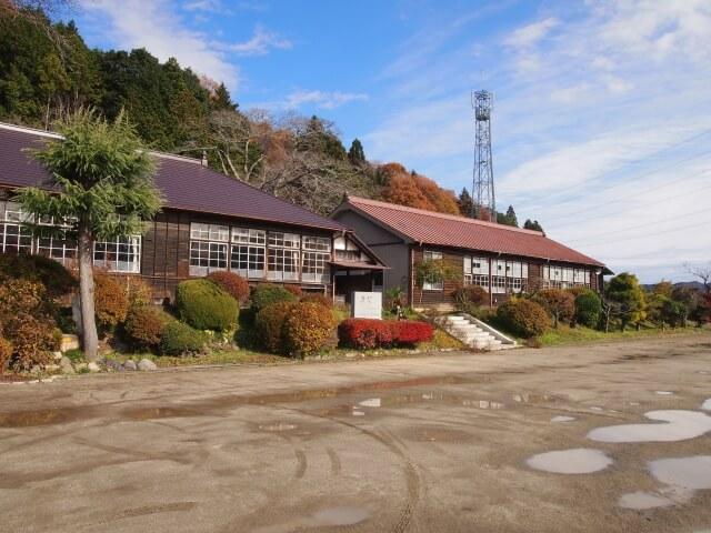 大子町 観光 旧上岡小学校