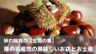 笠間市 栗 秋 名産