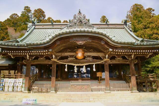 つくばねオートキャンプ場 周辺 筑波山神社