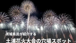 土浦花火大会 穴場スポット おすすめ