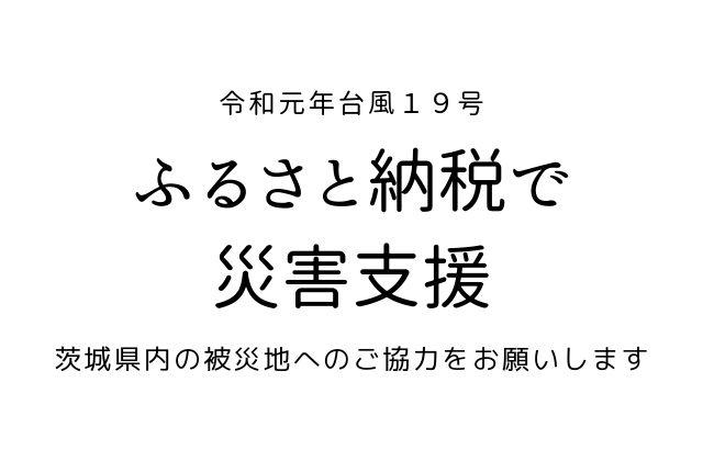 茨城県 台風被害 支援