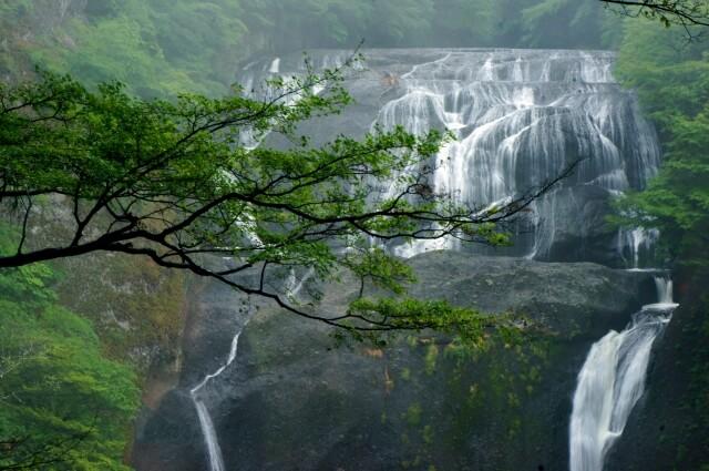 袋田の滝 第2観瀑台 風景