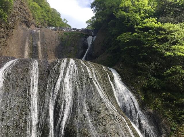 袋田の滝 水量