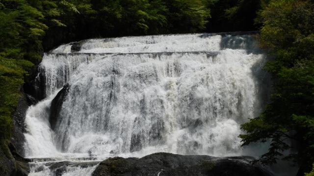 袋田の滝 水量 雨の後