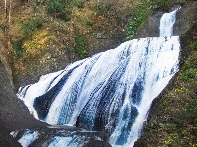 大子広域公園オートキャンプ場グリンヴィラ 周辺 観光 袋田の滝