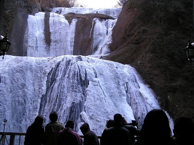 茨城県 大子町 観光 スポット 袋田の滝
