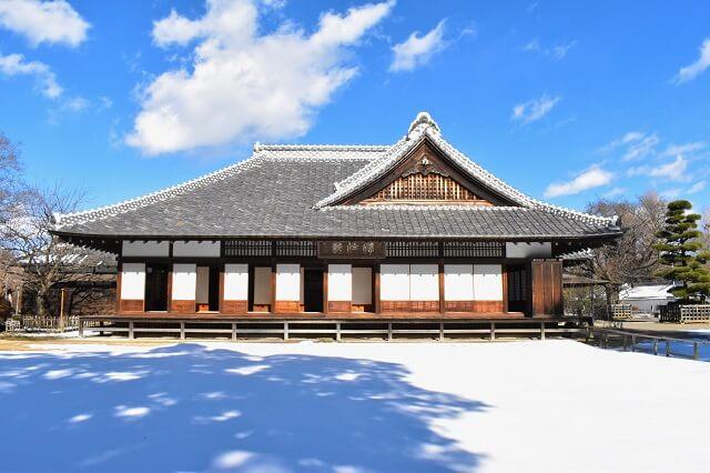 水戸城跡 三の丸 弘道館 正庁 重要文化財